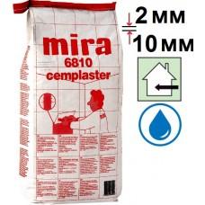 Mira 6810 cemplaster (серая), шпаклевка цементная (2-10 мм), 25 кг