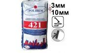 Полирем СШП-421, шпаклевка цементная для заделки трещин, 25 кг