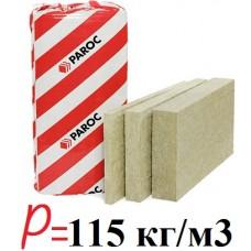 Paroc Fas-3, базальтовая вата для утепления фасадов