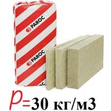 Paroc UNS 37, базальтовая вата для утепления мансард