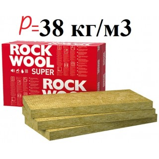 Rockwool Суперрок, базальтовая вата