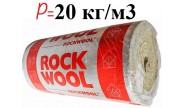 Rockwool Мультирок Ролл, базальтовая вата в рулоне