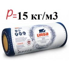 URSA M-15 «крыша комфорт», минвата  в рулоне