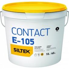 Силтек Контакт Е-105, Контактная грунтовка кварцевая, 10 л