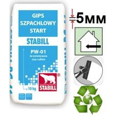 Stabill PW 01, шпаклевка гипсовая универсальная (до 5 мм), 25 кг