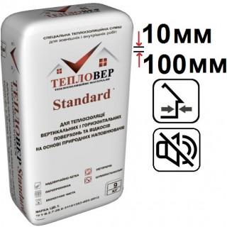 Тепловер Standard, теплоизоляционная смесь