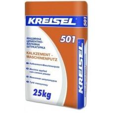 Kreisel 501 (Машинная), штукатурка цементно-известковая стартовая (5-20 мм), 25 кг