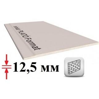 Plato гипсокартон стеновой, 12,5 мм